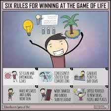 Six Rules For Winning At The Game Of Life