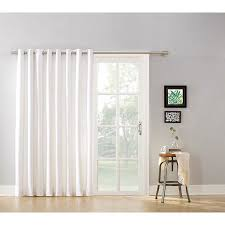 Walmart Grommet Blackout Curtains by Mainstays Blackout Energy Efficient Extra Wide Sliding Glass Door
