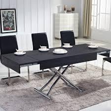 table basse relevable ema bois noir tables relevables topkoo