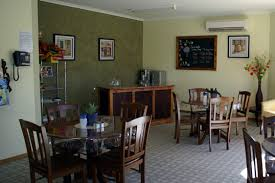 A Cafe Style Dining Area In Dementia Friendly Residential Aged Care Facility