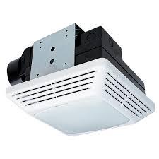 Ventline Bathroom Ceiling Exhaust Fan Motor by 50 Cfm Ceiling Exhaust Bath Fan With Light 678 The Home Depot