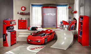 Red Black And Gray Boys Bedroom Design Ideas 3