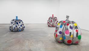 Yayoi Kusama Pumpkin Sculpture by Yayoi Kusama Wants You To Help Create Her Latest Artwork I D