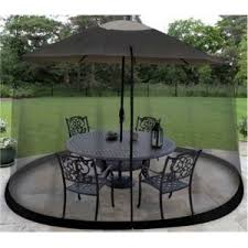 Patio Umbrella Covers Walmart by Bug Screen For Outdoor Patio Table Over The Umbrella Cover Net