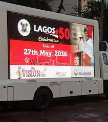 100 Truck Advertising Mobile LED Abuja VacantBoards