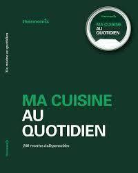 livre de recettes ma cuisine au quotidien pour tm5 mena