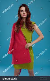 beautiful woman fashion clothes model stock photo 514440184