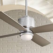 52 minka aire strata galvanized ceiling fan with light kit