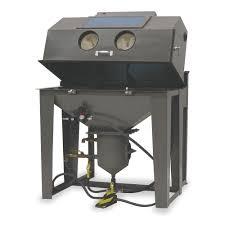 Media Blasting Cabinet Lighting by Econoline Abrasive Blast Cabinet 6yy21 101697wdg A Grainger