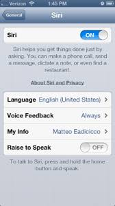 How to Disable Siri Raise to Speak on Your iPhone 5