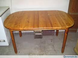 table de cuisine ovale table de cuisine ovale en pin massif a vendre 2ememain be
