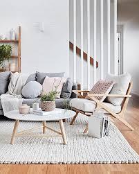wohnzimmer im skandinavischen stil living room