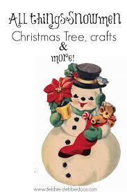 Frosty Snowman Christmas Tree Topper by Snowman Christmas Tree Theme Debbiedoos