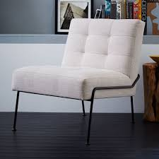 West Elm Everett Chair Leather by Oswald Tufted Slipper Chair West Elm Apa Oswald Tufted Slipper