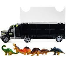 100 Dinosaur Truck AMGLOBAL Transport Car Carrier Transport Vehicle Toy