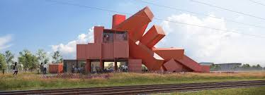 100 Build A Shipping Container House David Mach Designs Sculptural Building Made From 30 Shipping