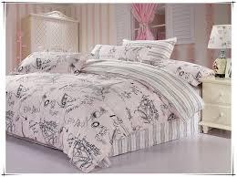 Bedding set 100% cotton Paris Eiffel Tower Reactive printed bed