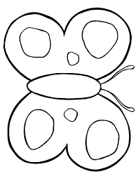 Cute Butterfly Coloring Pages Page Printable