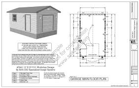 Shed Plans 16x20 Free by 12 X 20 Home Plans Homepeek