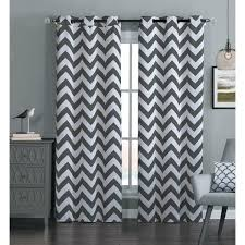 gray and white chevron curtains teawing co