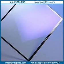 Non Reflective Anti Ar Glass For Electronical Display