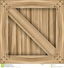 Wooden Crate Stock Illustration Of Commerce