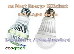 led light bulbs 52 most energy efficient decorative green and