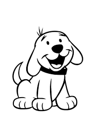 Cute Dog Coloring Pages For Preschool