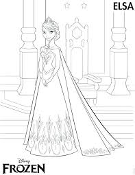Full Image For Free Frozen Printables Coloring Pages Elsa Crown Anna Invitations Disney Princess
