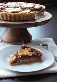 Maple Apple Walnut Tart With Homemade Pie Crust