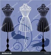 body dress form corset mannequin stock vector 29119417 shutterstock