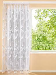webschatz jacquard gardine mit universalschienenband