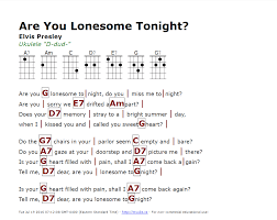 Don Mclean Empty Chairs Tab by Are You Lonesome Tonight Elvis Presley Http Myuke Ca