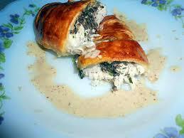 recette de blanc de poulet en pate feuilletée