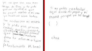 Ayúdame A Que Mi Papá Vuelvau201d La Emotiva Carta De Un Niño Boliviano