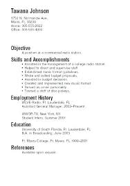 It Student Resume Sample Information Technology No Experience Graduate Example Of A College