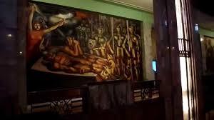 David Alfaro Siqueiros Murales La Nueva Democracia by Murales Del Museo Del Palacio De Bellas Artes Youtube