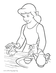 Disney Princess Coloring Pages Printable And