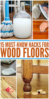 Fixing Hardwood Floors Without Sanding by 15 Wood Floor Hacks Every Homeowner Needs To Know Crazy Houses