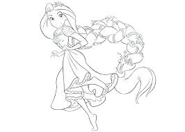 Printable Coloring Pages Disney Princess