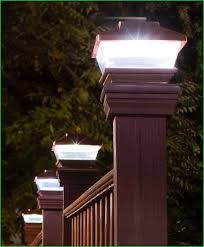 6x6 deck post caps solar lighting solar deck post cap lights home depot solar deck