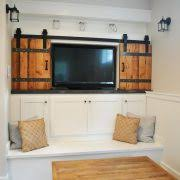 portland Pottery Barn Tv bedroom rustic with modern ranch themed