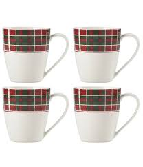 Spode Christmas Tree Mug And Coaster Set by Home Dining U0026 Entertaining Glassware U0026 Stemware Mugs