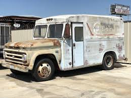 100 Milk Truck Accident NO RESERVE 1966 Chevrolet C 50 And Ice Cream Delivery