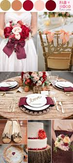 Burgundy Gold Peach Wedding Colorautumn Coloursautumn Colours Paletteburgundy