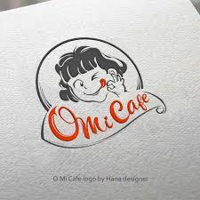 Logo Design By Hana For Cafe Icon Retro Theme