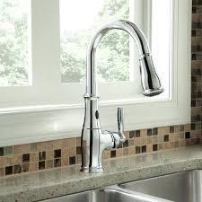 touch activated kitchen faucet kohler moen touchless lowes delta