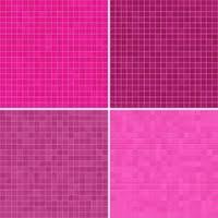 Set Of Textures Pink Tile Floor