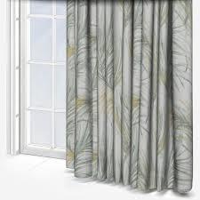 Casadeco Tissus Costa Rica Tropical Vert Curtain Custom Curtains