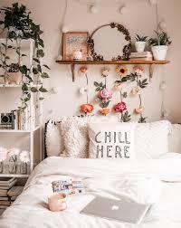 bedroom flower wall zimmer einrichten zimmer gestalten